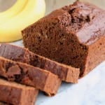 picture of chocolate banana bread